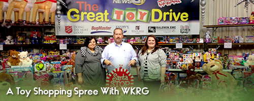 A Toy Shopping Spree With WKRG