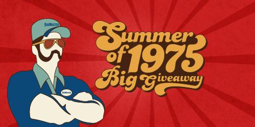 BugMaster 40 Year 1975 Giveaway Blog